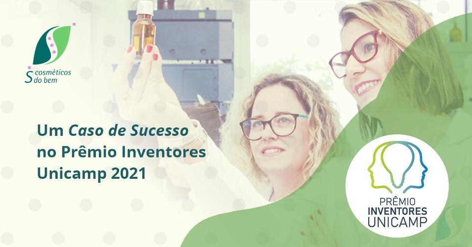 SCOSMETICOS - blog - Premio Inventores Unicamp 2021